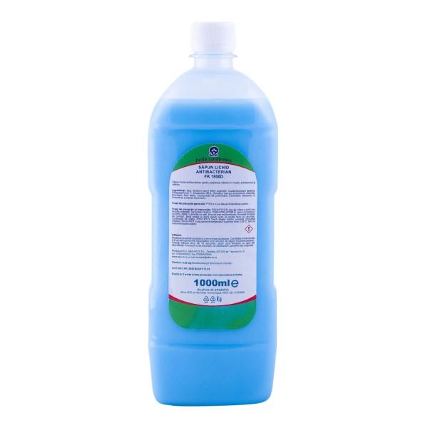 Aba Sapun Antibacterian, 1000 ml, la oferta promotionala✅. Produse profesionale de igiena si dezinfectie✅.