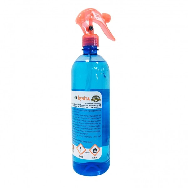 K-SEPT Dezinfectant solutie pentru suprafete pe baza de alcool 75%, cu pulverizator, 750 ml, la oferta promotionala✅. Produse profesionale de igiena si dezinfectie✅.