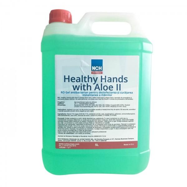 NCH Maintenance Gel antibacterian pentru dezinfectarea si curatarea instantanee a mainilor, 5 L, la oferta promotionala✅. Produse profesionale de igiena si dezinfectie✅.