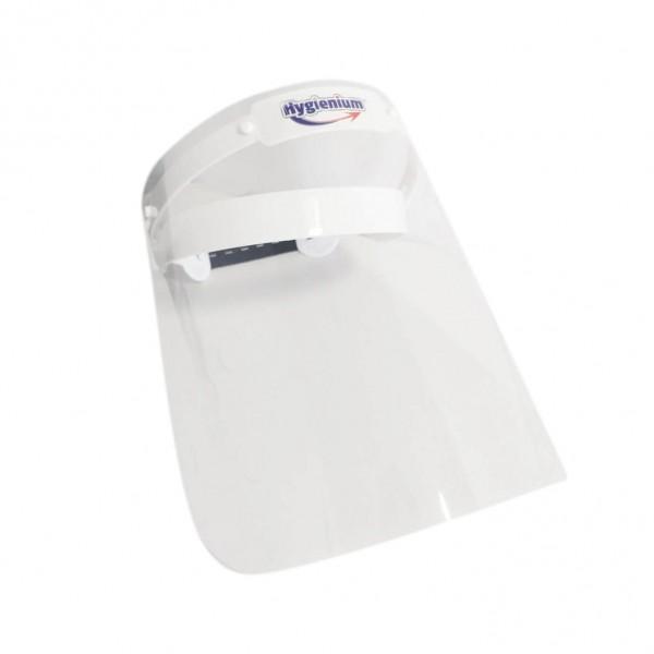 Pachet Hygienium Biocid Gel dezinfectant pentru maini 1000 ml + Viziera protectie rabatabila, la oferta promotionala✅. Produse profesionale de igiena si dezinfectie✅.