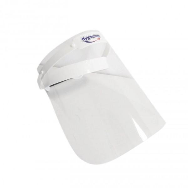 Pachet Hygienium Biocid Gel dezinfectant maini 1000 ml, avizat Ministerul Sanatatii + Viziera protectie rabatabila, la oferta promotionala✅. Produse profesionale de igiena si dezinfectie✅.